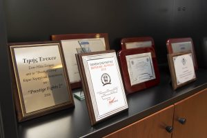 E.S. Honourable plaques & trophies