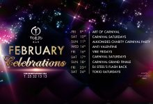 February Celebrations At Tokio Restaurant Bar!